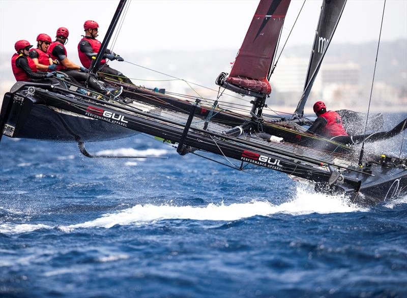 Christian Zuerrer's Black Star Sailing Team is finding its feet with Keith Swinton helming.  - 38 Copa del Rey MAPFRE - photo © Sailing Energy / GC32 Racing Tour
