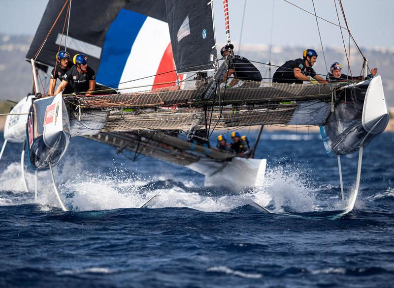 Red Bull Sailing Team claimed today's second race. - 38 Copa del Rey MAPFRE - photo © Sailing Energy / GC32 Racing Tour