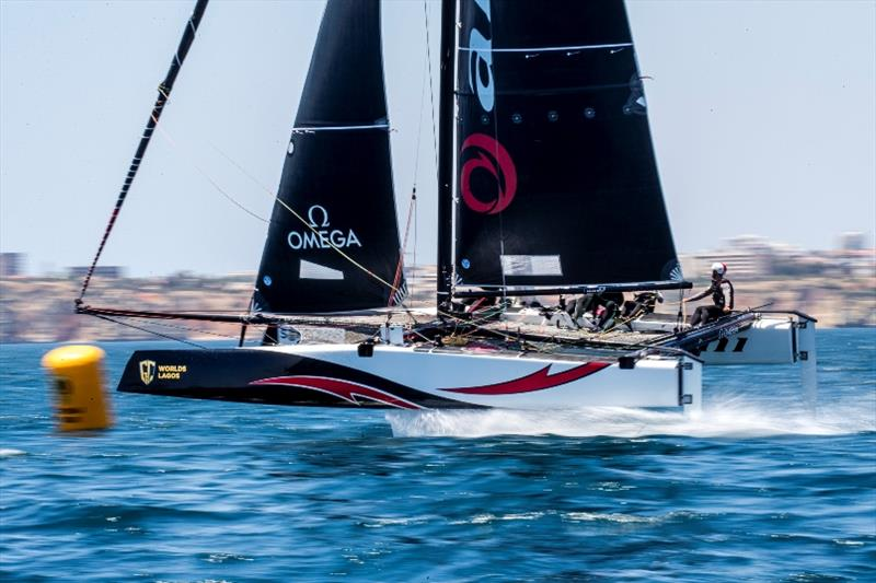 Ernesto Bertarelli's Alinghi team is tied on points for the 2019 GC32 Racing Tour's overall lead with Oman Air.  - photo © Jesus Renedo / Sailing Energy / GC32 Racing Tour