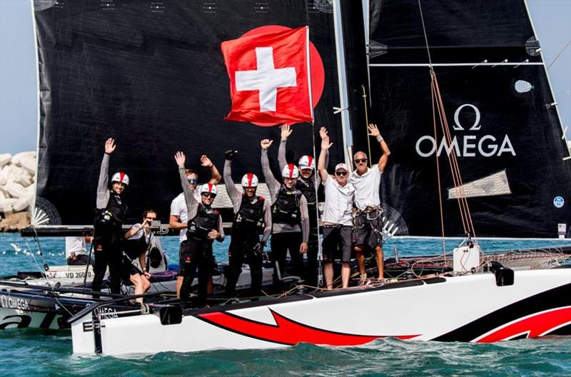 Alinghi claims the title - GC32 Oman Cup, Day 4 - photo © Sailing Energy / GC32 Racing Tour
