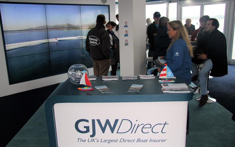 GJW Direct at TheYachtMarket.com Southampton Boat Show 2017 - photo © Mark Jardine / YachtsandYachting.com