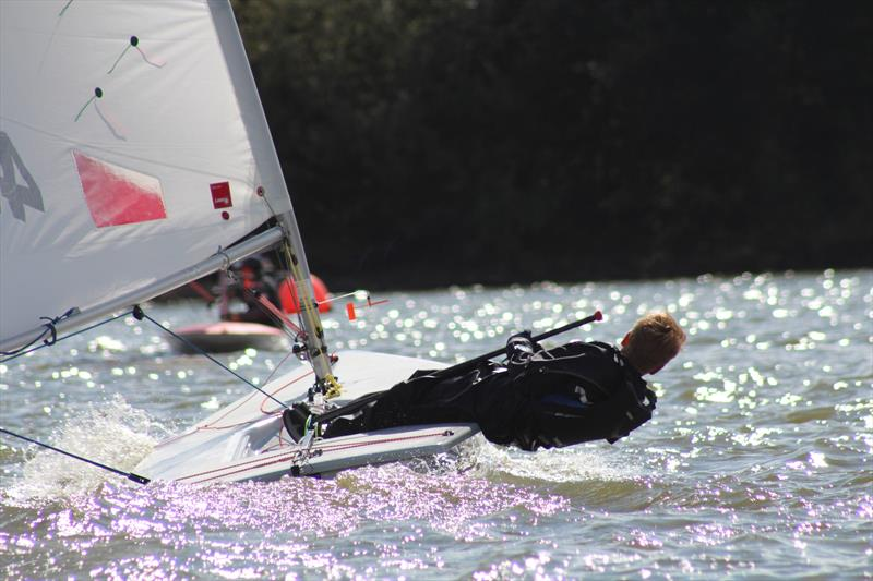 Jack Graham-Troll in his Laser 4.7 - photo © Lynne Graham-Troll