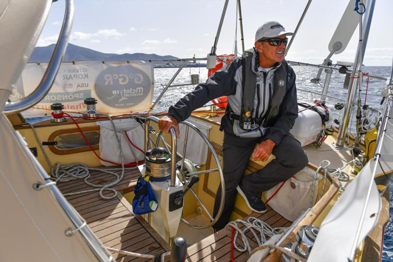 Disappointed - Kopar, who has already completed one solo circumnavigation, knows from experience that his yacht would never cope in the Southern Ocean in the way it is set up at present. - photo © Christophe Favreau / PPL / GGR