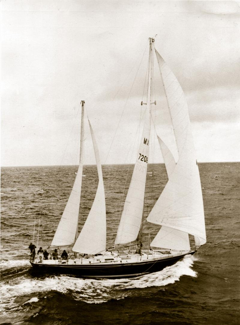 Ramon Carlin's Mexican Swan 65 Sayula II, winner of the first Whitbread Race in 1973. - photo © PPL Media