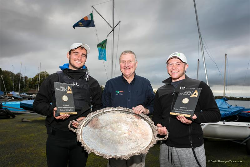 Fionn Lyden wins the All Ireland Sailing Championships at Mullingar - photo © David Branigan / Oceansport