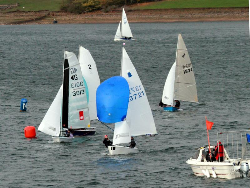 GP14 racing for the Slow Handicap title during the BUCS Fleet Racing Championships - photo © Tony Mapplebeck