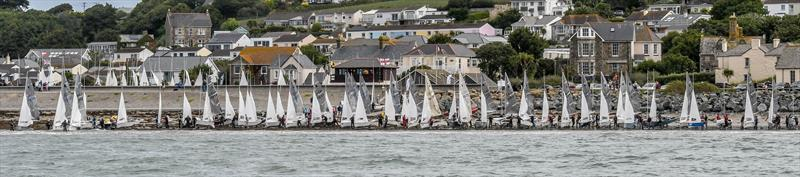 Day 2 of the Gul GP14 Worlds at Mount's Bay - photo © Lee Whitehead / www.photolounge.co.uk