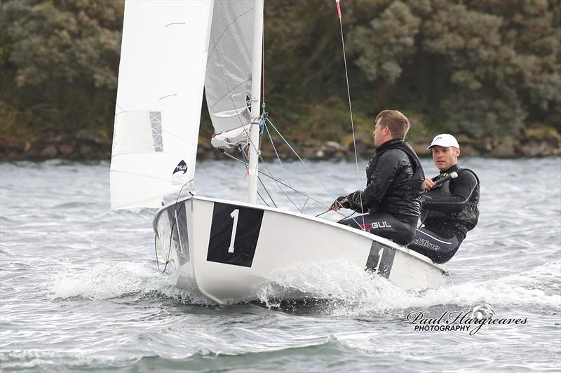The winning GP14 of South Staffs A Team during the 52nd West Lancs Yacht Club 24 Hour Race - photo © Paul Hargreaves