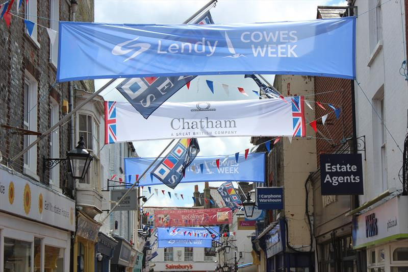 Event Branding for Lendy Cowes Week - photo © Grapefruit
