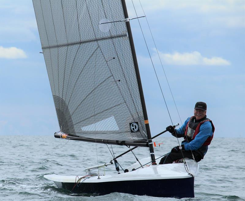 Ian Dawson, Grand Master Trophy winner at the Hadron H2 National Championship at Arun - photo © Keith Callaghan