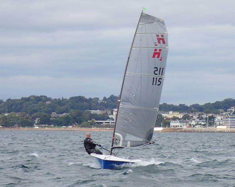 Richard Leftley in H2oligan during race 3 on day 1 of the Hadron H2 Nationals in Torbay - photo © Keith Callaghan