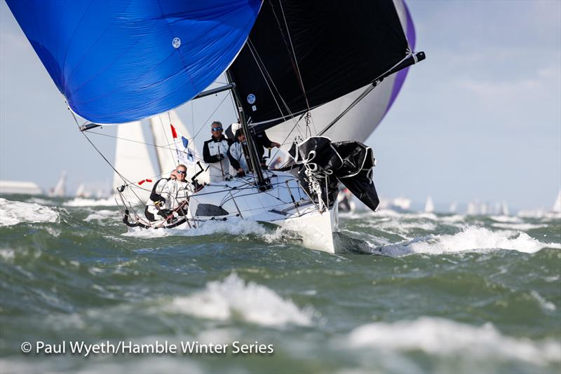 Swuzzlebubble - Autumn IRC Championships during week 1 of the HYS Hamble Winter Series - photo © Paul Wyeth / www.pwpictures.com