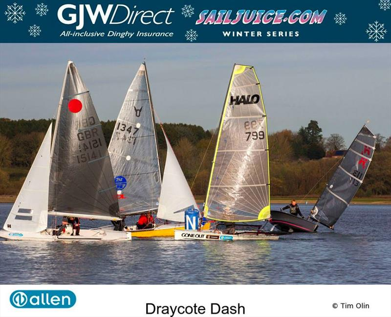 Halo rounding the mark during the Fernhurst Books Draycote Dash - photo © Tim Olin / www.olinphoto.co.uk