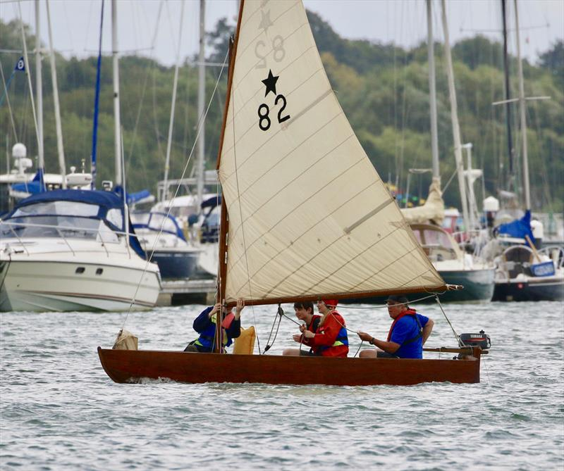 Hamble River Sailing Club Centenary Founders Day Sail Past - photo © Gill Pearson