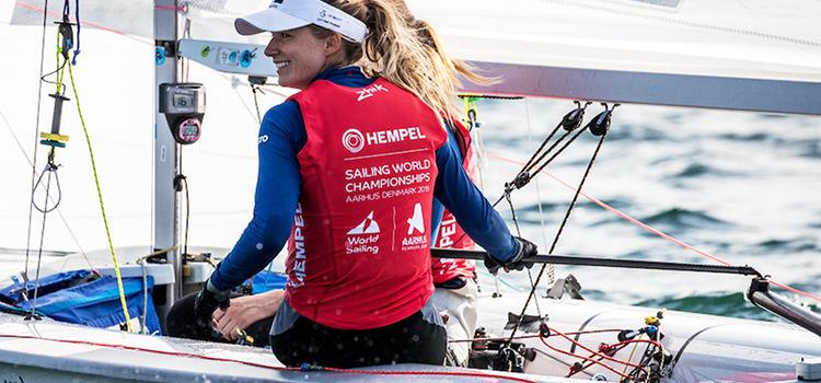 Hannah Mills - photo © British Sailing Team / Richard Langdon
