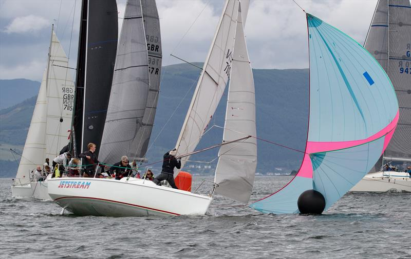 707 Jetstream at the 2018 Mudhook Regatta photo copyright Neill Ross taken at Mudhook Yacht Club and featuring the 707 class