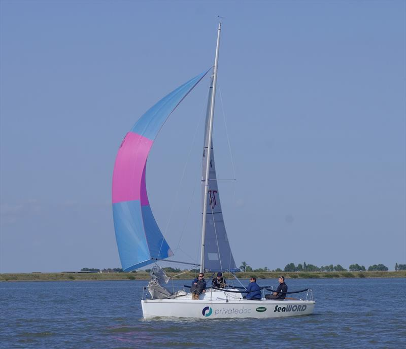 Team Seaword on their way to winning the 707 National Championship at Burnham Week - photo © Roger Mant