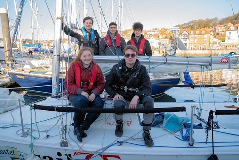 Scarborough YC and Hunter 707 SA collaboration provides new experiences for Leeds University students - photo © SYC