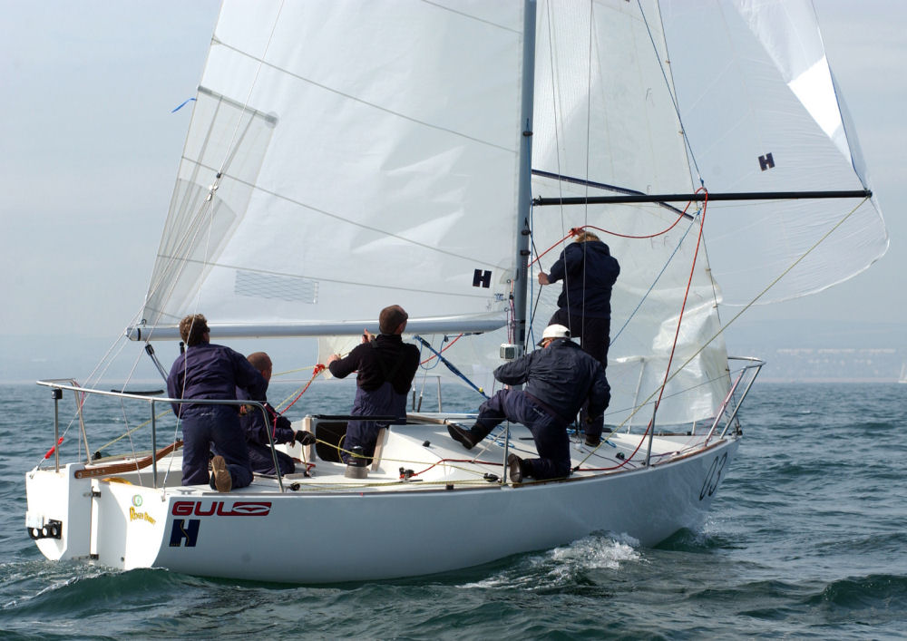 4 Hyde Sails Boats In The Top 6 Uk J 24 Worlds Qualification