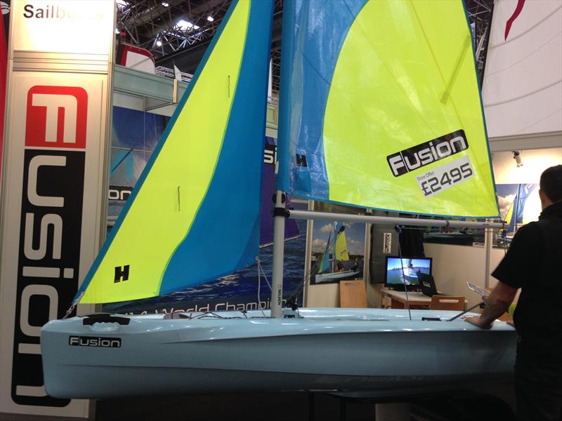 The Fusion Sail boat - photo © Hyde Sails