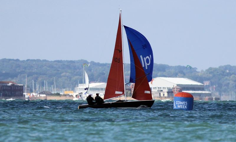 Nigel and Jack Grogan during the National Squib 50th Anniversary National Championship at Lendy Cowes Week 2018 - photo © Mark Jardine