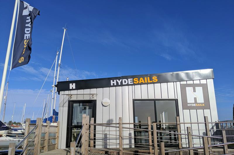 The new Hyde Sails Hamble River office - photo © Mark Jardine