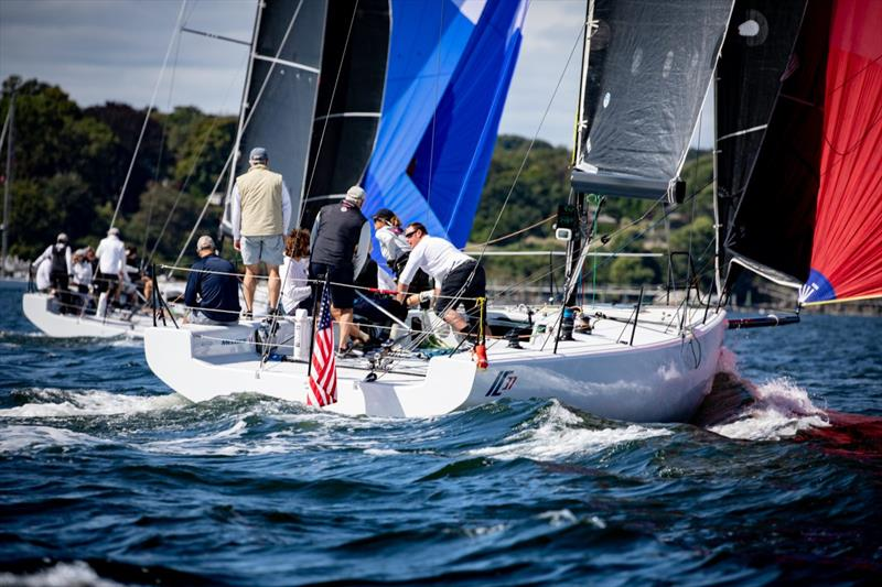 IC37 Fleet racing - photo © Melges Performance Sailboats