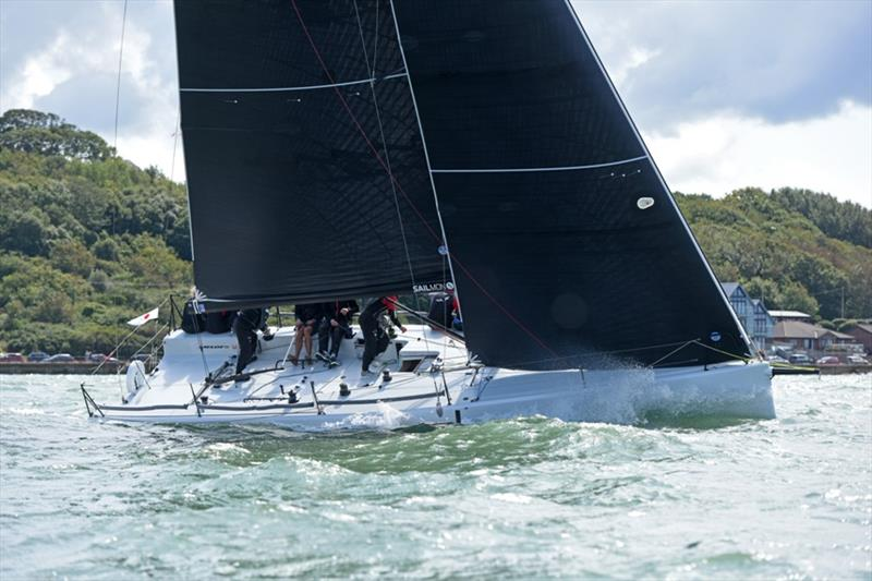 Melges IC37 - Cowes Week 2019 photo copyright Rick Tomlinson taken at Cowes Combined Clubs and featuring the IC37 class