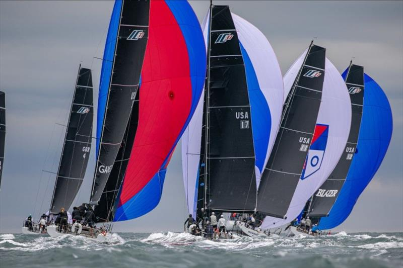 Melges IC37 US National Championship - Day 1 - photo © Melges Performance Sailboats / Morgan Kinney