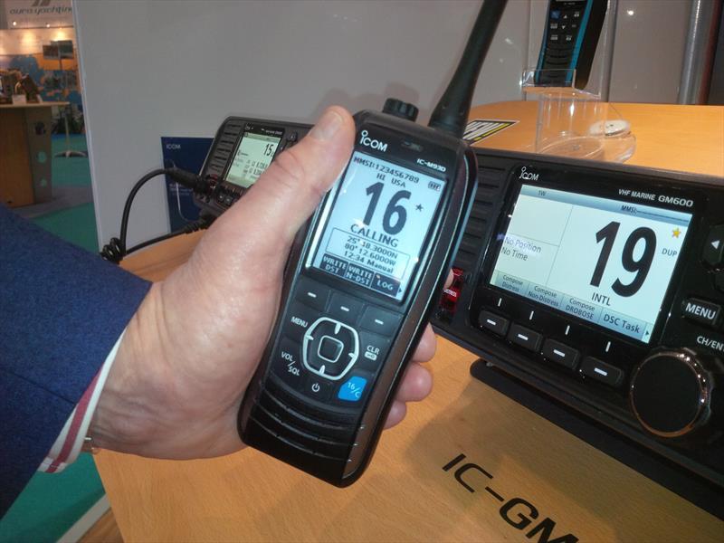 Best Handheld Gps >> Icom's IC-M93D Next Generation Handheld VHF/DSC Marine Radio