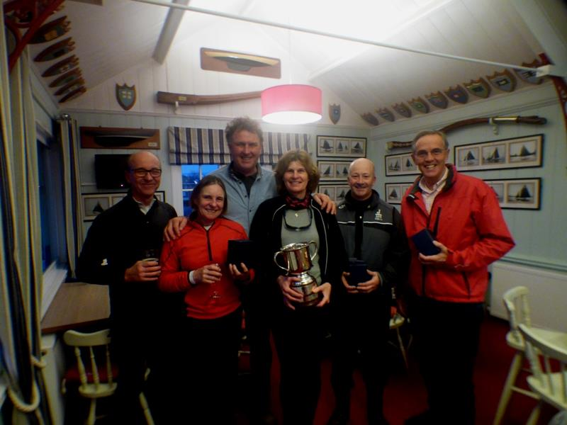 Mark & Jo Downer win the Bembridge Illusion Inter Club Team Racing - photo © Mike Samuelson