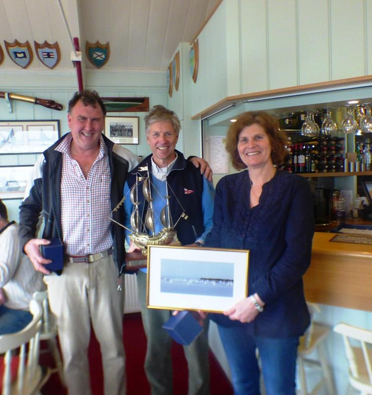 Bembridge Illusion Stratton Memorial Trophy photo copyright Mike Samuelson taken at Bembridge Sailing Club and featuring the Illusion class