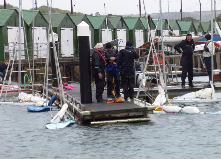 Buoyancy checks during the Illusion season opener at Bembridge - photo © Mike Samuelson