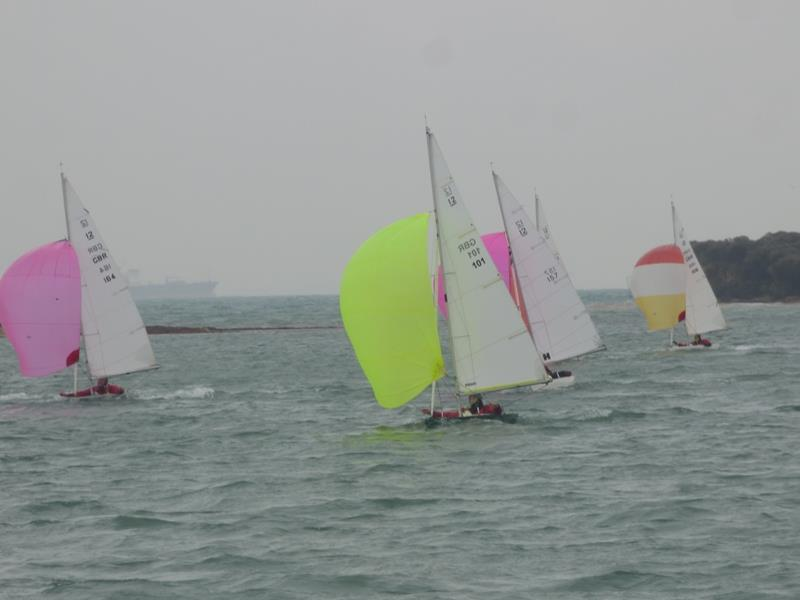 Bembridge Illusion Bailey Bowl photo copyright Mike Samuelson taken at Bembridge Sailing Club and featuring the Illusion class