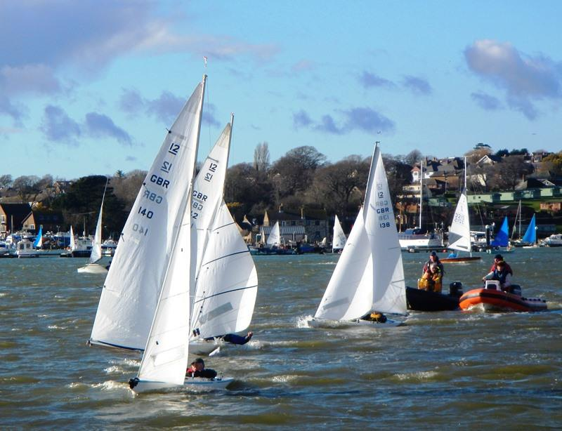 Bembridge Illusion Match Racing Championships 2019 photo copyright Mike Samuelson taken at Bembridge Sailing Club and featuring the Illusion class