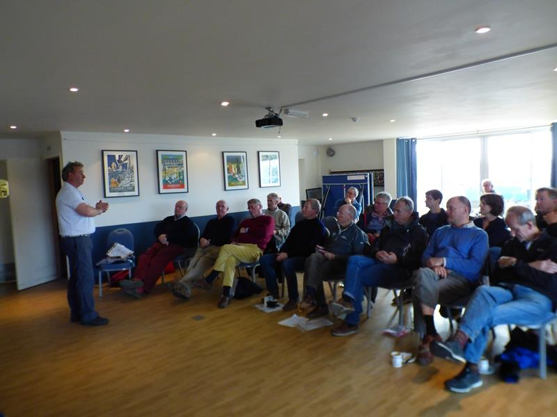 Match Racing workshop during the Bembridge Illusion Match Racing Championships 2019 - photo © Mike Samuelson