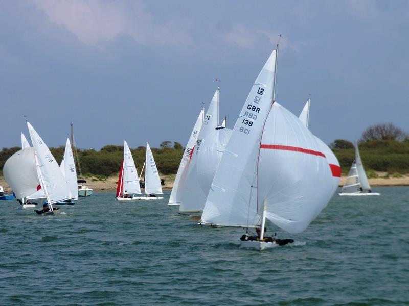 Bembridge Illusion St George's Day Trophy & Woodford Long Distance Race 2019 photo copyright Mike Samuelson taken at Bembridge Sailing Club and featuring the Illusion class