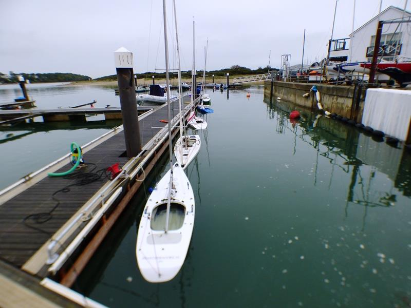 Buoyancy tests on the opening weekend of the Bembridge Illusion Winter Season - photo © Mike Samuelson