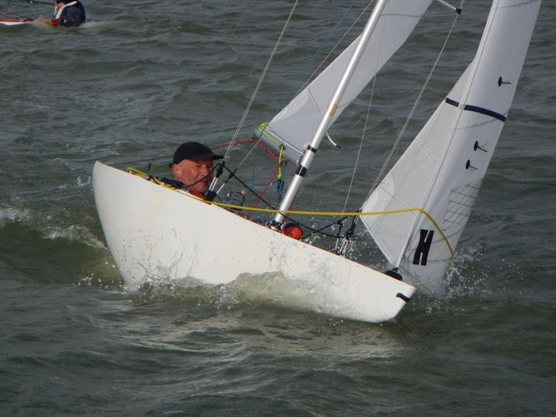 Bembridge Illusion Bill's Barrel 2020 photo copyright Mike Samuelson taken at Bembridge Sailing Club and featuring the Illusion class