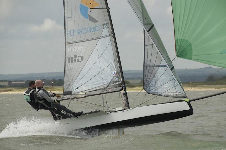 International 14 Gallon Trophy At Itchenor Sailing Club