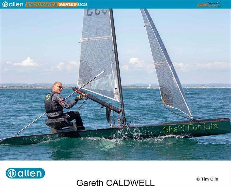 Gareth Caldwell during the Solent Forts Race - Allen Endurance Series Round 1 - photo © Tim Olin / www.olinphoto.co.uk