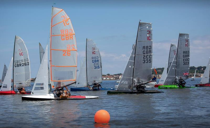International Canoe start during the West Kirby Sailing Club Regatta - photo © Alan Jenkins & Alan Dransfield