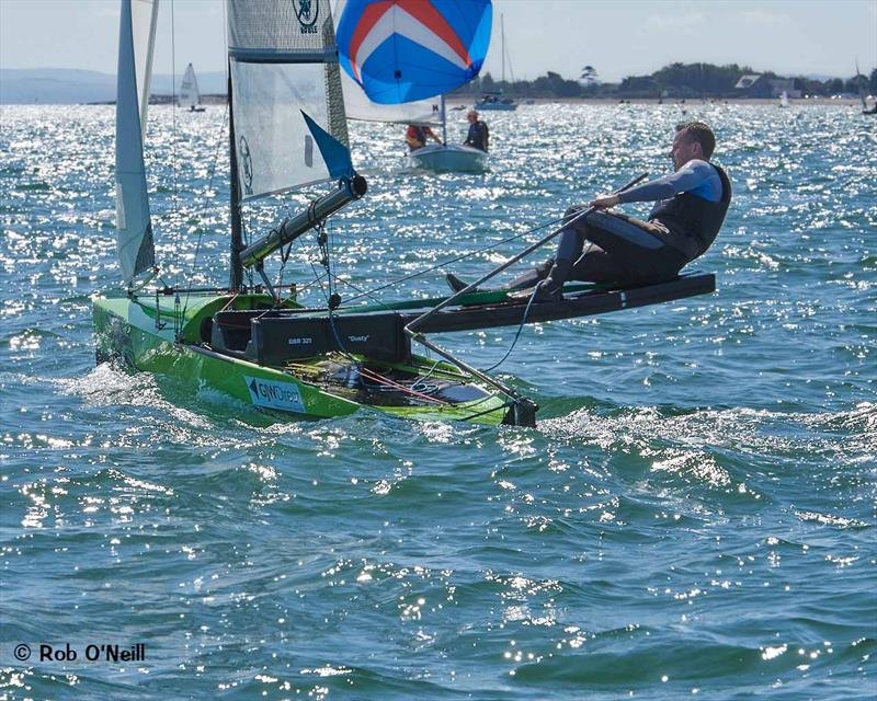 International Canoes at Chichester Harbour Race Week