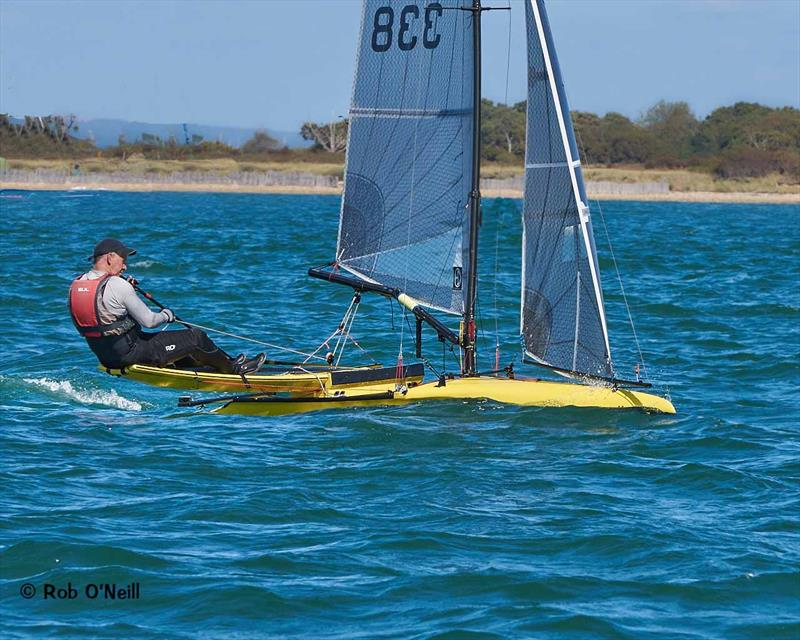 International Canoes at Chichester Harbour Race Week - photo © Rob O'Neill