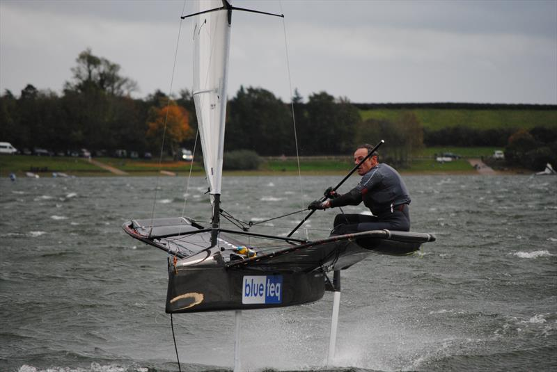 Event winner Ricky Tagg during the Draycote International Moth Grand Prix - photo © Fabian Katz