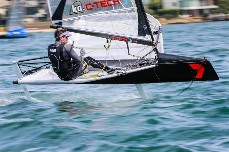 Scott Babbage on day 3 at Sail Sydney 2014 - photo © Craig Greenhill / Saltwater Images
