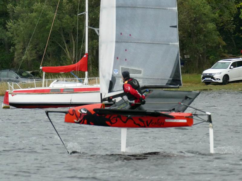 Moth and WASZP Open at Bala photo copyright John Hunter taken at Bala Sailing Club and featuring the International Moth class