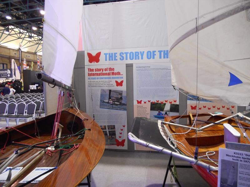Lowrider Moths at the RYA Dinghy Show 2019 - photo © Ian Marshall