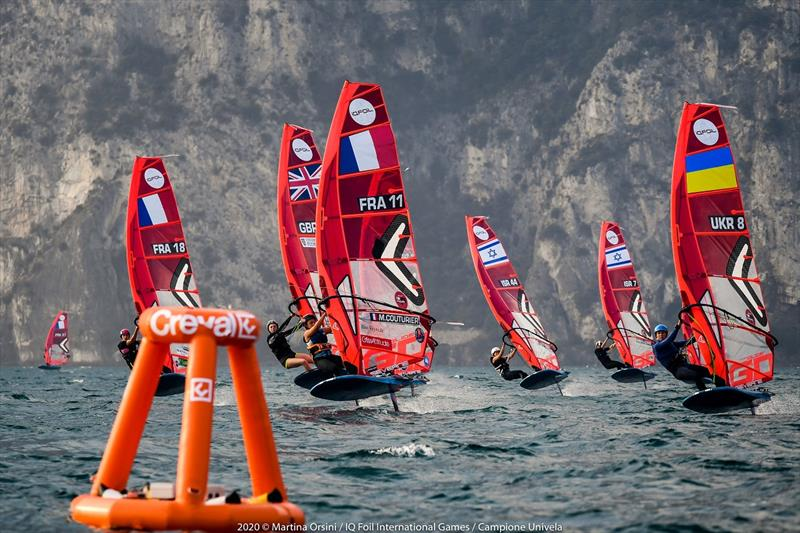 iQFoil International Games at Campione, Lake Garda - Day 2 - photo © Martina Orsini / iQFoil International Games