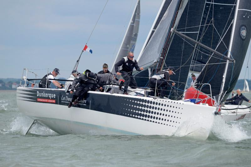 Dunkerque - Les Dunes de Flandre - 1st overall IRC Three and joint winners of the 2016 RORC IRC National Championship trophy - photo © Rick Tomlinson / www.rick-tomlinson.com